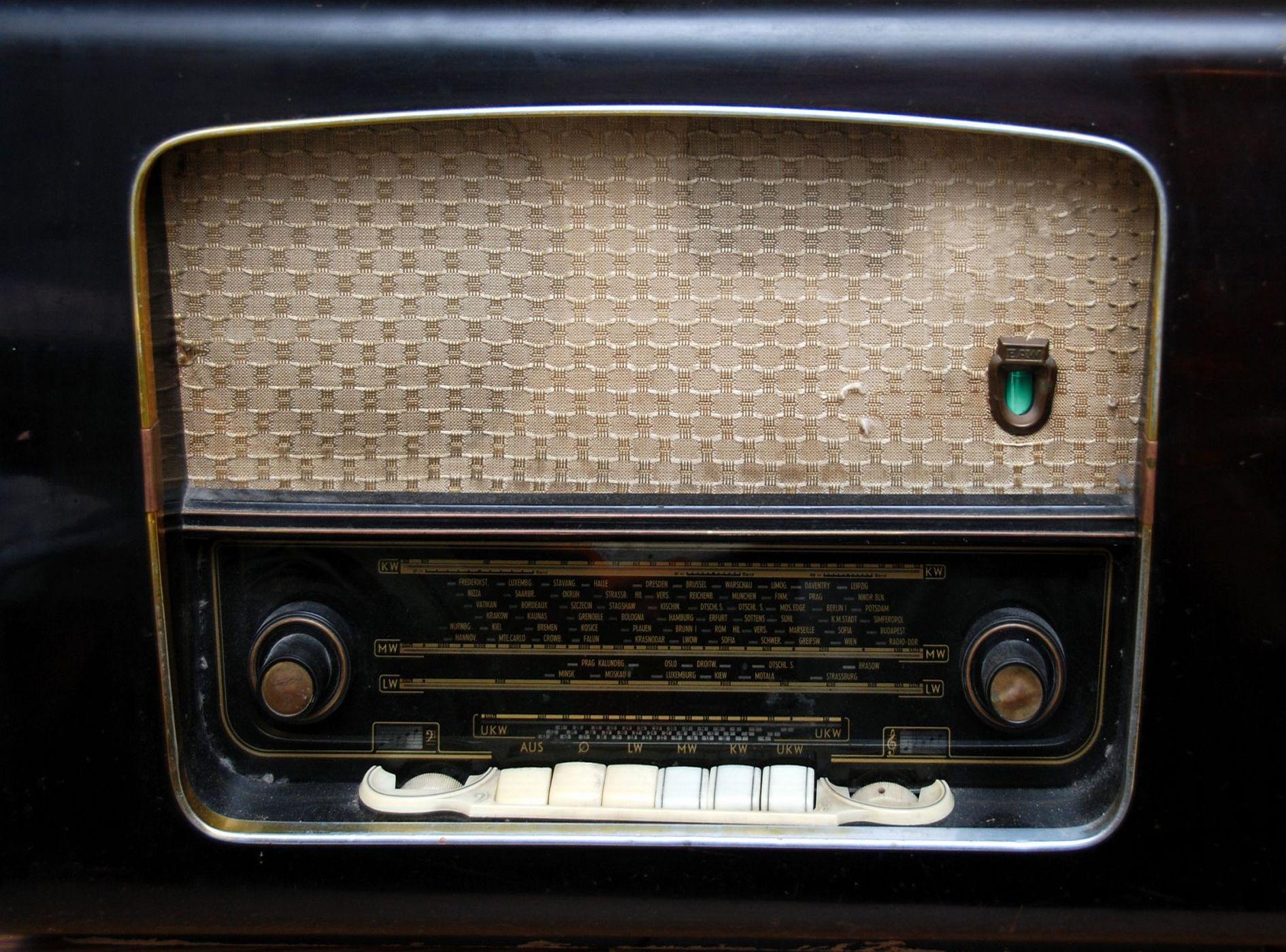 Как сделать эффект старого радио